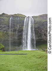 Seljalandsfoss is one of the most famous waterfalls of...