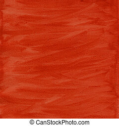red and orange watercolor abstract with canvas texture -...