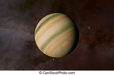 Jupiter 'Elements of this image furnished by NASA'
