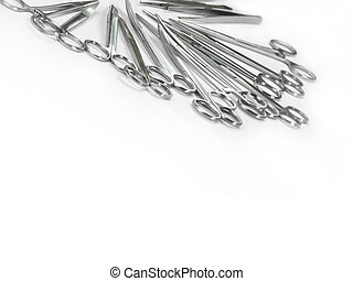 surgical instruments arranged in a pattern 4 - surgical...