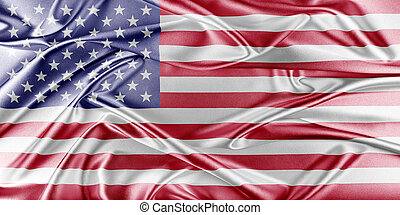 United States Flag - United States Flag. Flag with a...