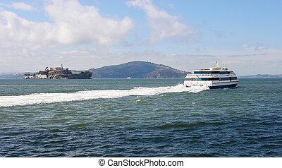 Alcatraz Island & Ferry.