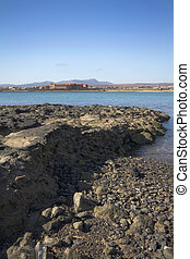 Fuerteventura Canary Islands spain a beautiful Coastline...