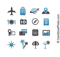 Travel icon set - Simplicity Series