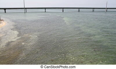 The Seven Mile Bridge Fl Keys - The Ocean and Seven Mile...