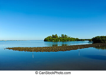 Perico Bayou located on the west coast of Florida between...