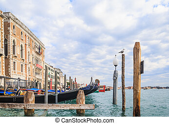 Grand Canal. Venice. Italy