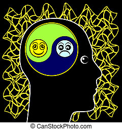Bipolar Mood Swings - Alternation of the emotional state...