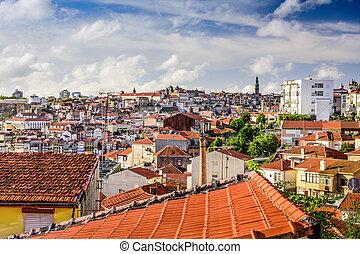 Oporto Cityscape from Vila Noval de Gaia