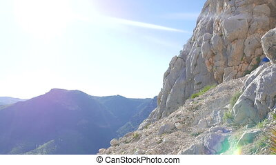 El Chorros mountains - Beautiful mountains of El Chorro with...