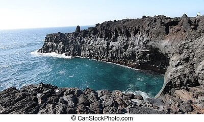 cliffs on the coast - beautiful cliffs on the coast at the...