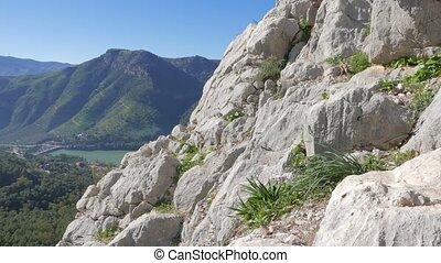 El Chorros mountains - Beautiful mountains of El Chorro,...
