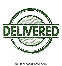 Delivered stamp