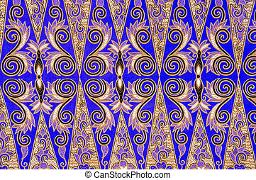 Batik Pattern - Malaysian and Indonesian Batik Pattern