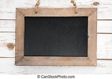 vazio, quadro-negro,