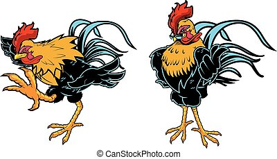 Rooster - Great Rooster design for any Cock Fight, chicken...