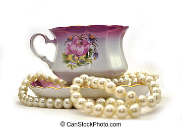 Chalice with pearls -  Chalice with pearls