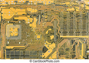 Industrial hi-tech electronic background