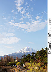 Mt fuji at kawaguchi lake side view - Mt fuji at kawaguchi...