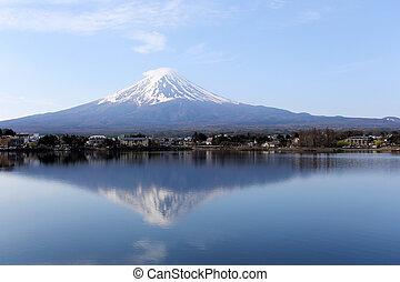 Mt fuji at kawaguchi lake view - Mt fuji at kawaguchi lake...