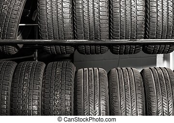 Tires Rack Tire Sales - Large Metal Tires Rack Modern Car...