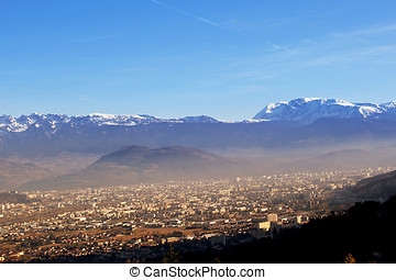 Grenoble in France - Grenoble is a city in southeastern...