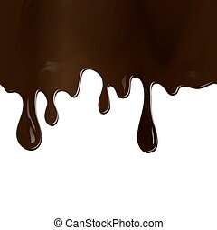 chocolate drips seamless patterns a