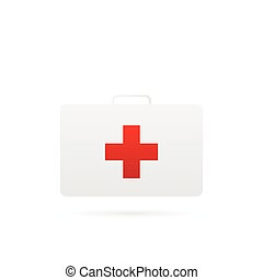 First Aid Kit Illustration