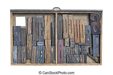 cassetto, miscela, Tipo, legno, scrivania