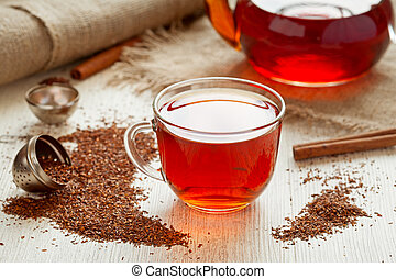 Rooibus tea traditional south africa antioxidant beverage...