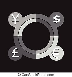 currency vector illustration