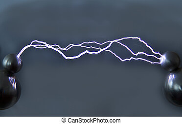 Spark discharge - This artificially created by an electrical...