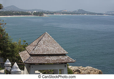 View point of Island for Traveler in Koh Samui