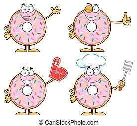 Pink Donut 1. Collection Set