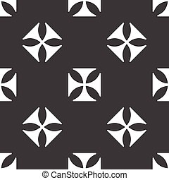 Maltese cross pattern - Version of maltese cross repeated on...
