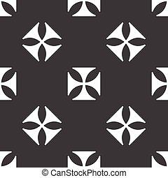 Maltese cross pattern - Version of maltese cross repeated on...