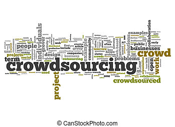 Word Cloud Crowdsourcing - Word Cloud with Crowdsourcing...