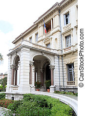 Massena Palace, Nice, France - The Massena Palace Museum of...