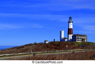 Montauk Point Lighthouse, Montauk, Long Island, New York