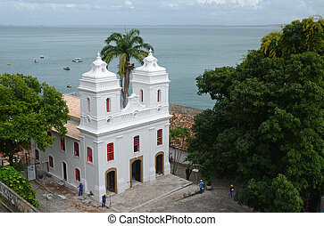 Salvador da Bahia, Brazil - A former chapel is now part of...