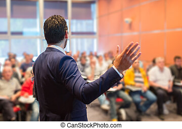 Speaker at Business Conference and Presentation - Speaker at...