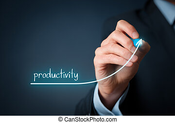 Productivity increase - Manager businessman, coach,...