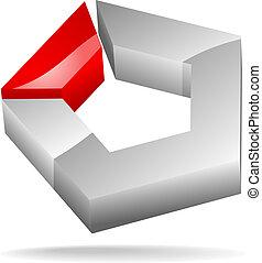 pentagon - symbol of pentagon
