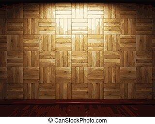 vector wooden background