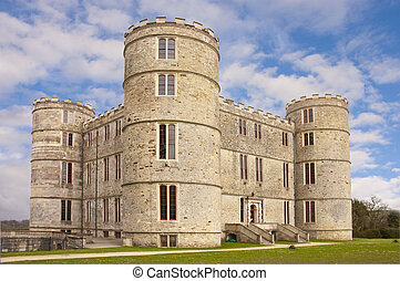 Lulworth castle - Luluworth castle in Dorset from the rear...