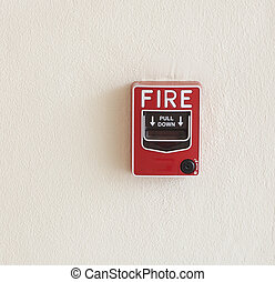 Emergency button fire break glass - fire break glass Fire...