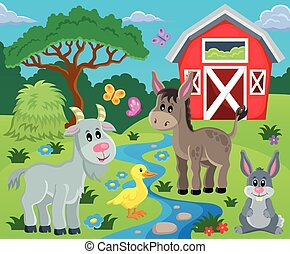Farm topic image 7 - eps10 vector illustration