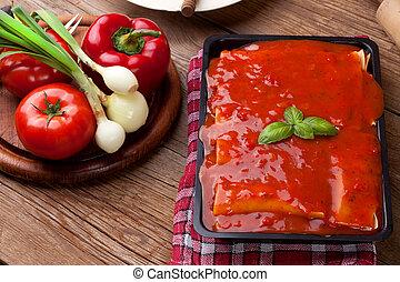lasagne,  Cuisine, boeuf, italien
