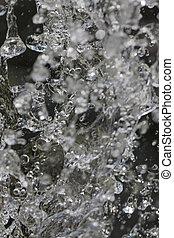 fountain gushing