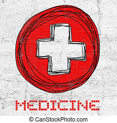 Cross medicine - Creative design of Cross medicine